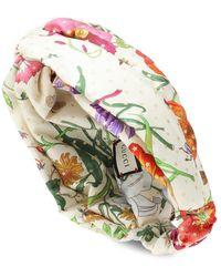 Gucci Fascia per capelli in seta - Multicolore
