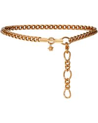 Versace Medusa Chain-link Belt - Metallic