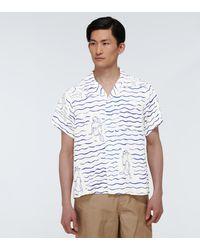 Visvim Gauguin Short-sleeved Shirt - Blue