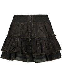 Poupette Exclusivité Mytheresa – Mini-jupe Camila en coton - Noir