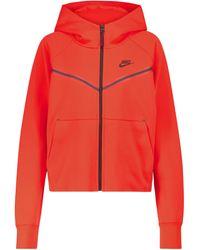 Nike Chaqueta de chándal Windrunner - Rojo