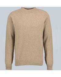 Sunspel Jersey de lana - Amarillo