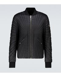 Rick Owens Moncler + Angle Jacket - Black