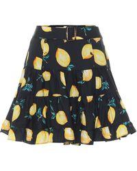 Alexandra Miro Exclusive To Mytheresa – Isla Printed Cotton Miniskirt - Multicolour