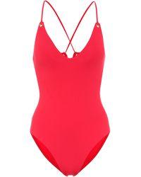Melissa Odabash Catalina Swimsuit - Red