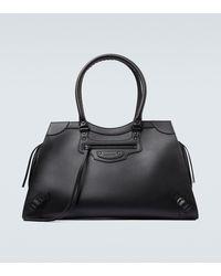 Balenciaga Neo Classic Leather Bag - Black