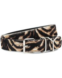 Y. Project Calf Hair Belt - Multicolour