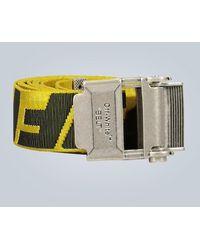 Off-White c/o Virgil Abloh Cintura Industrial 2.0 - Giallo