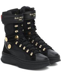PUMA X Balmain - Sneakers Deva in pelle - Nero