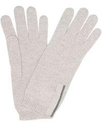 Brunello Cucinelli Cashmere Gloves - Brown