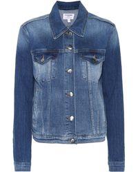 FRAME - Le Vintage Denim Jacket - Lyst