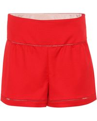 RED Valentino Shorts aus Cady - Rot