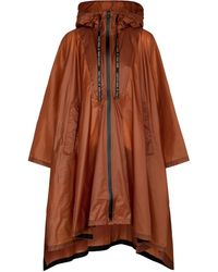 Dorothee Schumacher Bag It Out Nylon Rain Jacket - Brown
