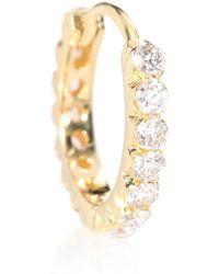 Maria Tash - Invisible Set Diamond Eternity 18kt Yellow Gold Earring - Lyst