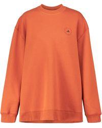 adidas By Stella McCartney Sweat-shirt ASMC SC en coton mélangé - Rouge