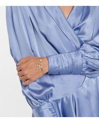 Ileana Makri Armband Eye aus 14kt Gold mit Diamanten - Mettallic