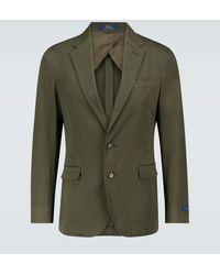 Polo Ralph Lauren Blazer droit en coton - Vert