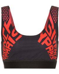 Givenchy Top sportivo in tessuto tecnico - Rosso