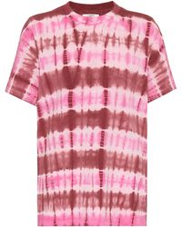 Étoile Isabel Marant T-Shirt Dena aus Baumwolle - Pink