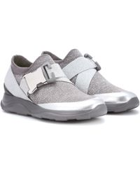Christopher Kane - Safety Buckle Sneakers - Lyst