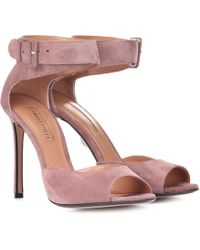 Samuele Failli - Exclusive To Mytheresa – Jerry 105 Suede Sandals - Lyst