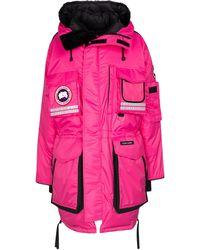 Canada Goose Daunenmantel Snow Mantra - Pink