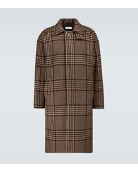 Éditions MR Mac Checked Hunting Coat - Brown
