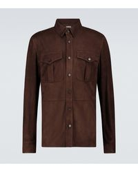 Ralph Lauren Purple Label - Hemdjacke Barron - Lyst
