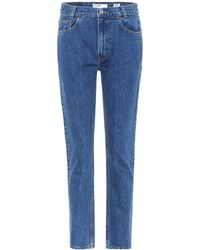 RE/DONE - High-Rise Jeans Academy Fit - Lyst