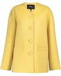 Marc Jacobs Wool, Cashmere And Silk Jacket - Yellow