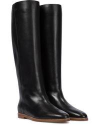 Gabriela Hearst Skye Leather Knee-high Boots - Black