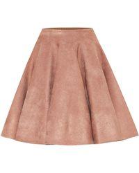 Alaïa High-rise Miniskirt - Multicolour