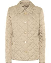 Burberry - Quilted Jacket - Lyst