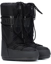 Moon Boot Exclusive To Mytheresa – Classic Plus Snow Boots - Black