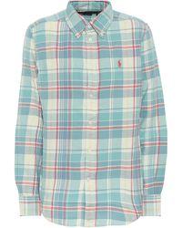 Polo Ralph Lauren - Kariertes Hemd aus Baumwolle - Lyst