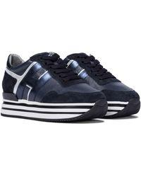 Hogan Plateau-Sneakers H483 - Schwarz
