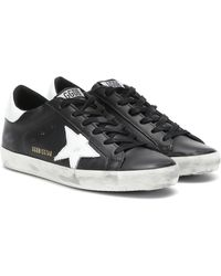 Golden Goose Deluxe Brand - Superstar L27 Leather Trainers - Lyst