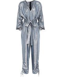 Stella McCartney - Combi-pantalon métallisée - Lyst