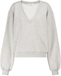 Agolde Sweatshirt aus Baumwolle - Grau
