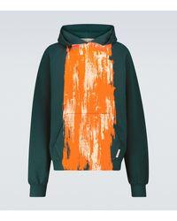 Marni Printed Hooded Sweatshirt - Green