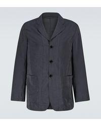 Lemaire Silk-blend Pyjama Jacket - Black