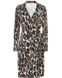 Diane von Furstenberg New Jeanne Two Leopard-print Shirt Dress - Black