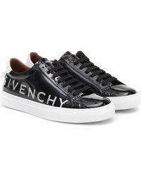 Givenchy Sneakers Urban Street aus Lackleder - Schwarz