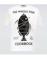 Junya Watanabe The Whole Fish T-shirt - White