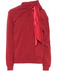 Y. Project Cotton Sweatshirt - Red