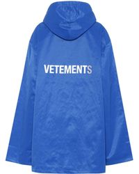 Vetements | Printed Raincoat | Lyst