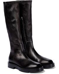 Givenchy Bottes en cuir - Noir