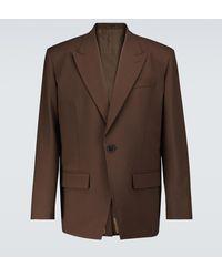 Valentino Blazer en mezcla de lana - Marrón