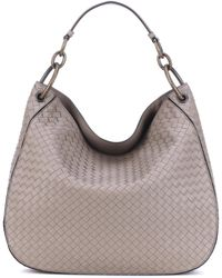 Bottega Veneta - Large Loop Intrecciato Leather Tote - Lyst
