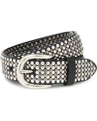 Isabel Marant Studded Leather Belt - Black